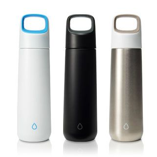 The KOR Vida stainless steel water bottle is attractive, easy to drink out of, easy to open, completely leak-proof, lightweight, and BPA-free.