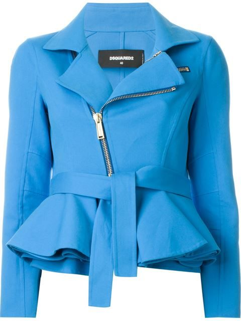 Shop Dsquared2 peplum hem biker jacket in Vinicio from the world's best independent boutiques at farfetch.com. Shop 300 boutiques at one address.