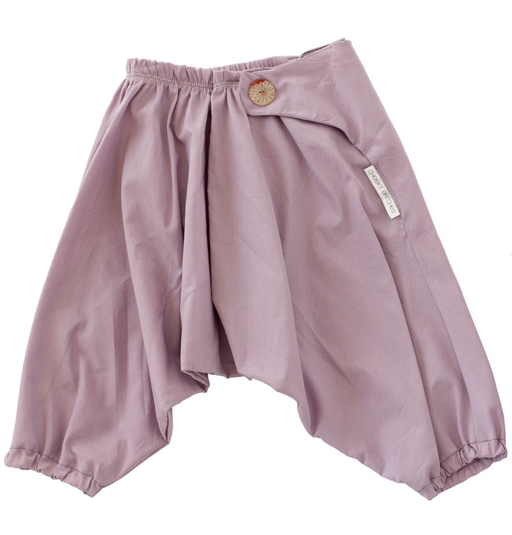 100% Cotton Japanese Baby Samurai Pants - Mushroom. $29.95 USD, via Etsy. Really want to find  pattern for these