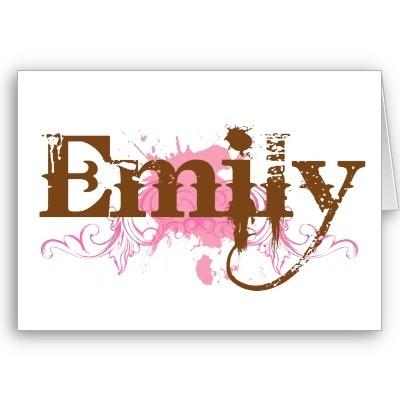 @Sunshine for Emily