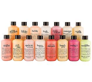 philosophy celebrating 15 years shower gel collection #QVCbeauty