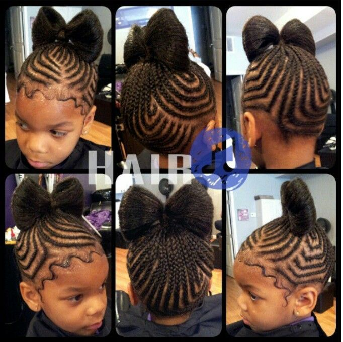 #Bow #Braids #BabyHair