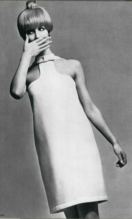 Very contemporary, from Pierre Cardin, 1966.