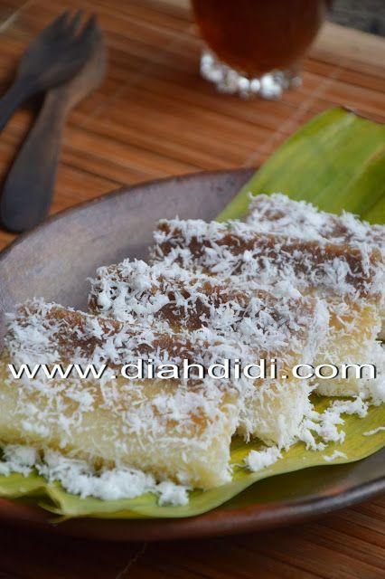 Diah Didi's Kitchen: Lapis Singkong Coklat