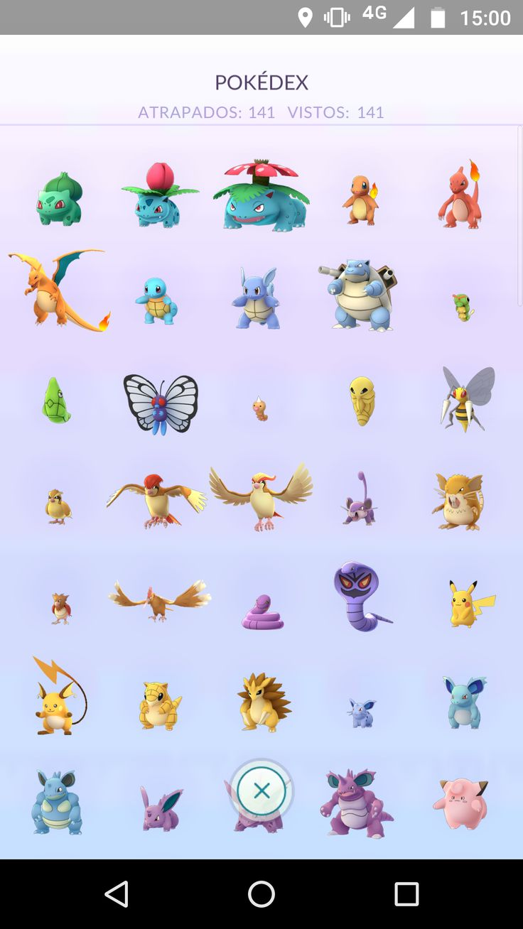 After 3 months finally I completed the regional Pokédex! (Buenos Aires Argentina)
