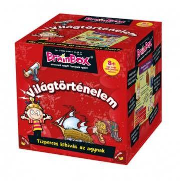 Brainbox - Világtörténelem - 8 éves kortól - Egyszerbolt Társasjáték Webáruház