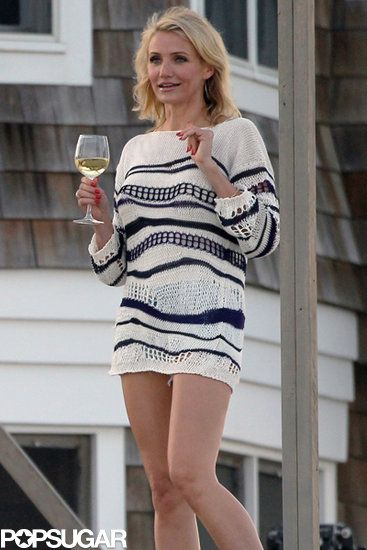 Drink to That | Cameron Diaz filmed scenes for The Other Woman in the Hamptons.