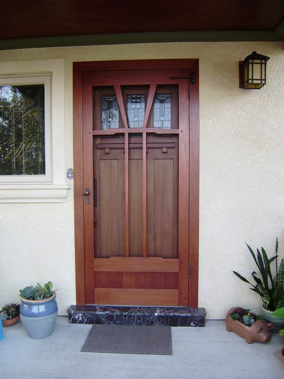 1000 images about porch screen doors on pinterest dark for Entry door with screen
