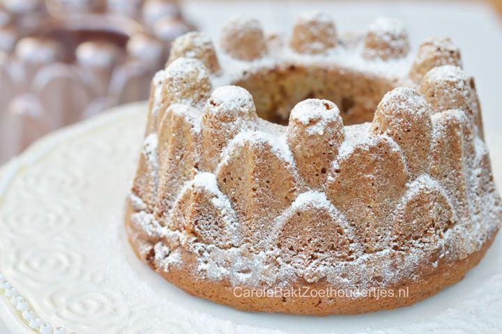 Kruidige Pompoen Bundt Cake, pompoencake, herfstcake, Amerikaanse cake, bundtcake, recepten met pompoen, bakken met pompoen, hoe maak je pompoen puree