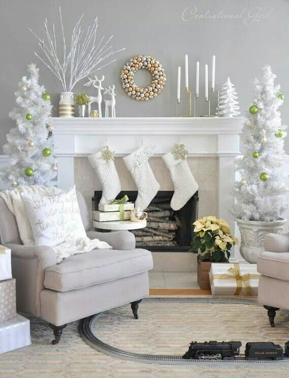 Christmas Room Decorations 844 best winter/christmas decorations images on pinterest