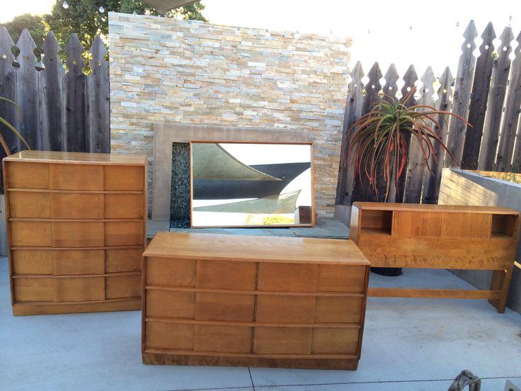 vintage heywood wakefield bedroom furniture kohinoor set encore
