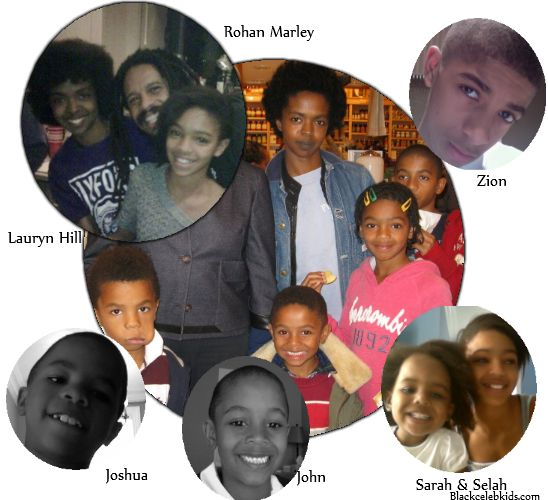 Bob Marley Sons Names | This will be Marley second marriage and Fontana's third. She