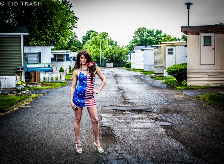 American trailer trash porn
