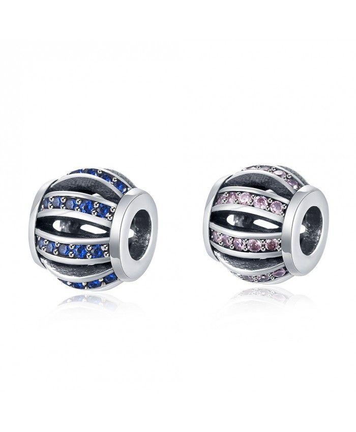 925 Sterling Silver Blue Bracelet Charms