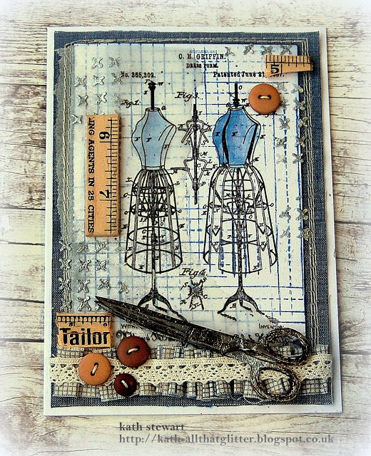 Kath's Blog......diary of the everyday life of a crafter: Creativations 2018 Tim Holtz Blog Hop and Give-Away