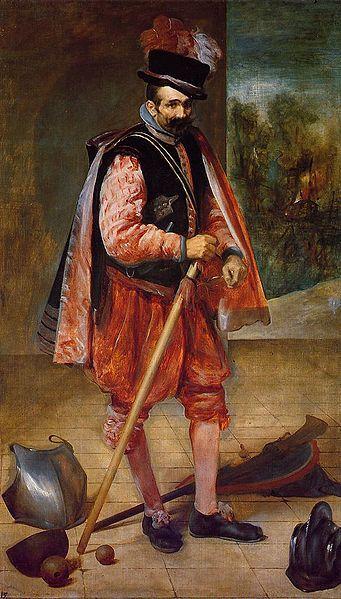 Diego Velazquez - Portrait of the Jester named don Juan de Austria (oil on canvas, 1632 - 1633)