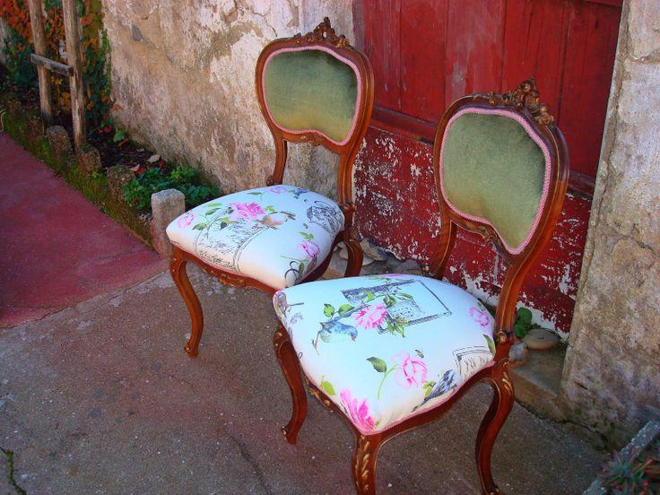 Cadeiras restauradas!