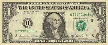Znalezione obrazy dla zapytania banknoty dolarowe