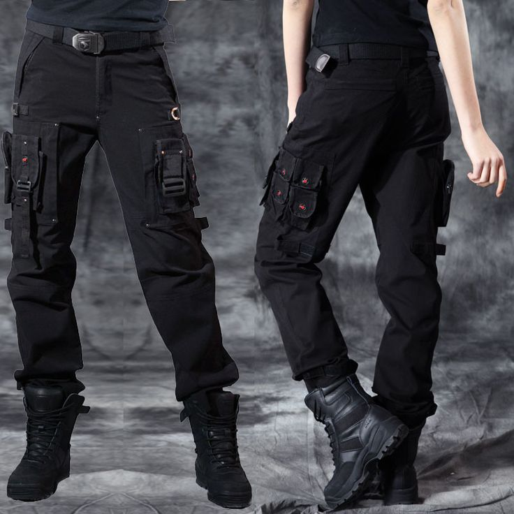 New high quality outdoor Army fans multi-pocket wide leg women army fatigue pants women's army cargo pants