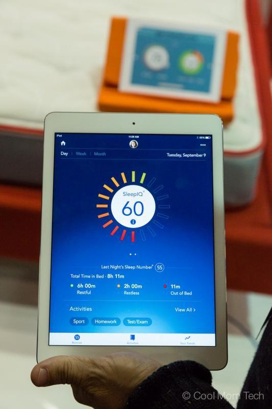 Kids Sleep IQ bed from Sleep Number tracks their sleep routines through sensors in the mattress... (via Cool Mom Tech)
