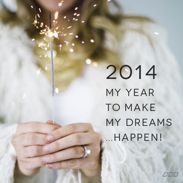 Wishing a year of dreams come true to everyone!  Happy New Year <3