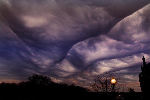 Undulatus asperatus Is A Cloud Formation