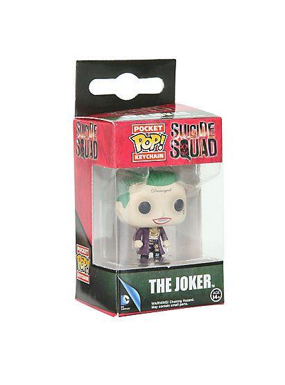 Funko Suicide Squad The Joker Pocket POP! Key ChainFunko Suicide Squad The Joker Pocket POP! Key Chain,