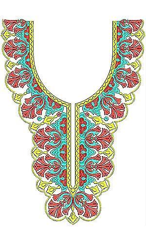 Latest Arabian Jalabiya Abaya Caftan Embroidery Design