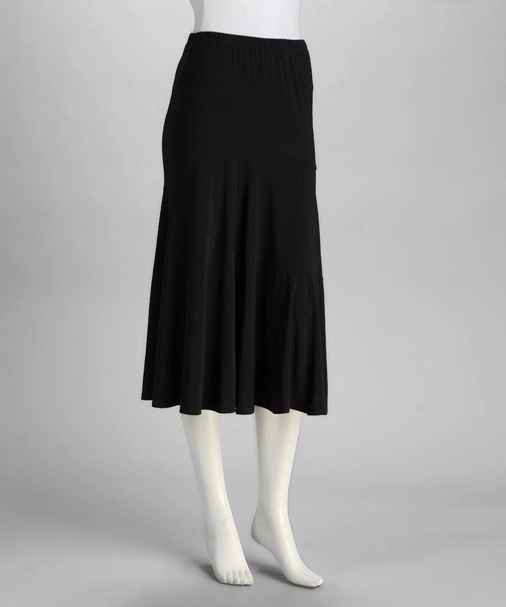 Circle Skirt Black 25