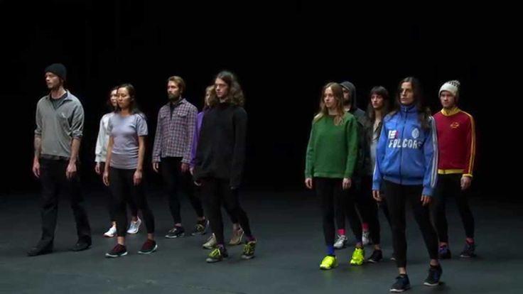 Golden Hours (As you like it) / Rosas Choreografin Anne Teresa De Keersmaeker & Brian Eno