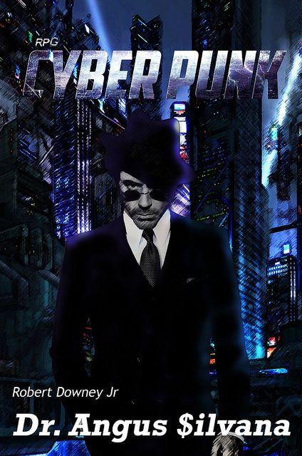 NerdCast RPG CyberPunk Dr. Angus Silvana