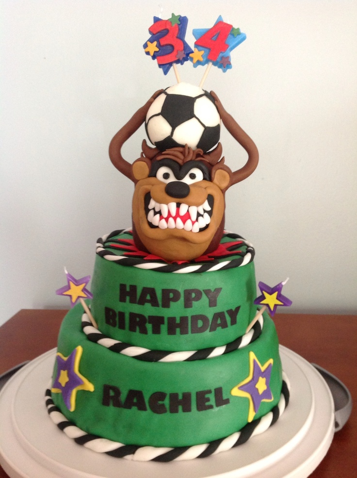 Tazmania Birthday Cake