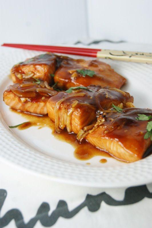 Roasted Salmon Teiryaki-My Food Passion