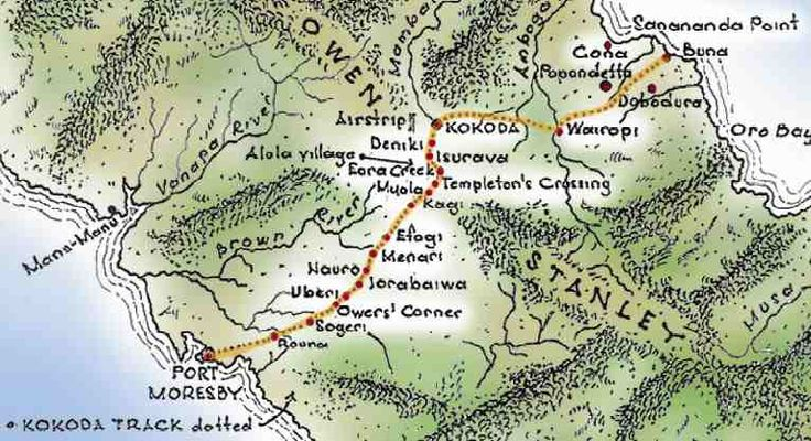 The Kokoda Trail. This is on my bucket list and I will do it one day!!!