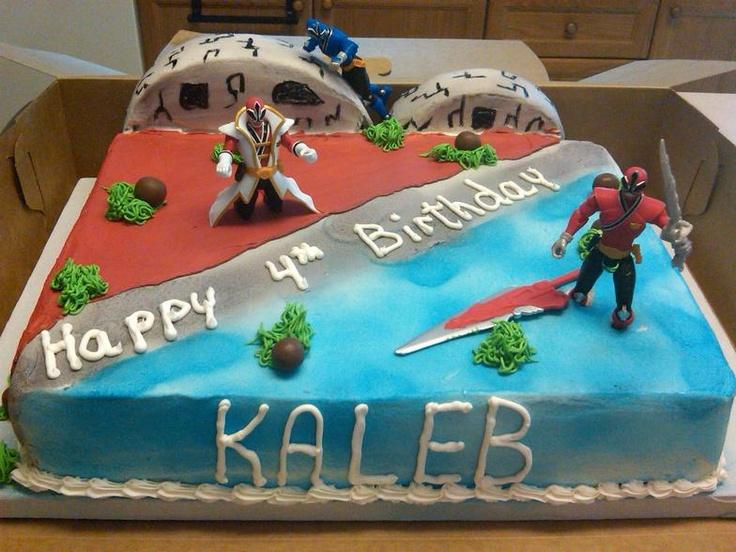 power ranger cake decorating ideas - Google Search