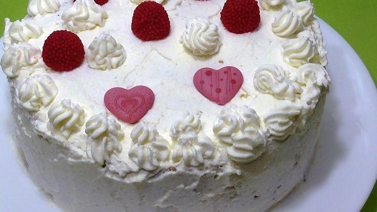 ТОРТ КАРУСЕЛЬ. Рецепт бисквитного торта  на день св.Валентина