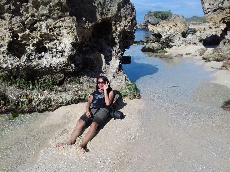 Lay on privat beach *yiihhaaa*