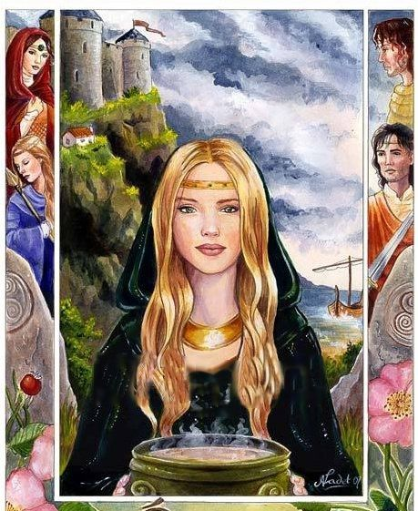"Lofn: The Comforter, The Mild  Lofn is one the daughters of the dwarf Hreidmar. She had one sister Lyngheid and 3 brothers Fafnir, Regin and Otr. Lofn means ""the comforter"", ""the mild"", or ""loving"". Lofn is gentle in manner and an arranger of marriages, if they had been forbidden."