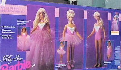 Back of Box - First My Size Barbie: do you have any info on these dolls, history, which ones were first, 2nd etc... when they stopped making them?  I'm trying to find some of them and figure