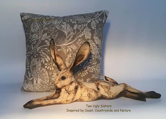 Rabbit Cushion Cover Fox Cushion Flower Squirrel Cushion