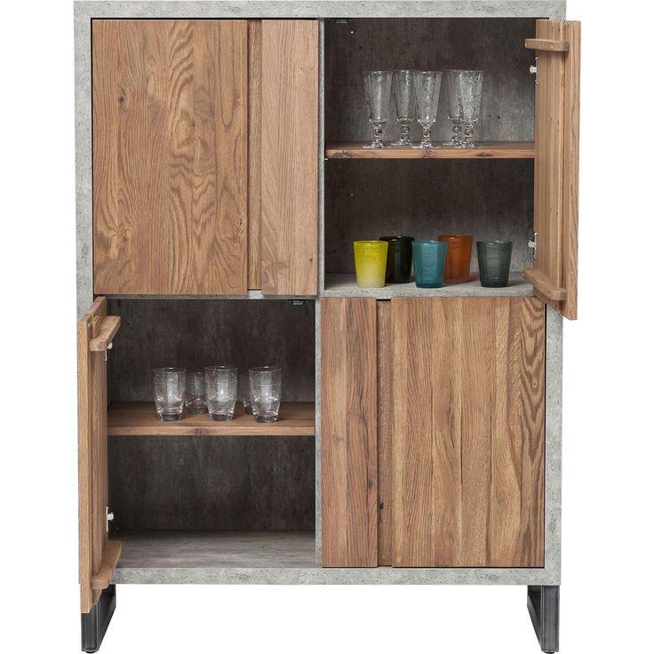 KARE Design Seattle 4 Doors Cabinet