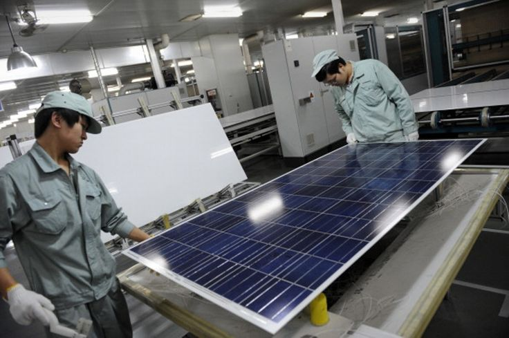 A majority of EU countries on Thursday opposed a European Commission plan to extend anti-dumping duties on Chinese solar panels for two years, according to EU diplomats, putting pressure on the EU exe
