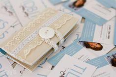 Este porta-cartão de visita é delicado e sofisticado (Foto: tidbits-cami.com)