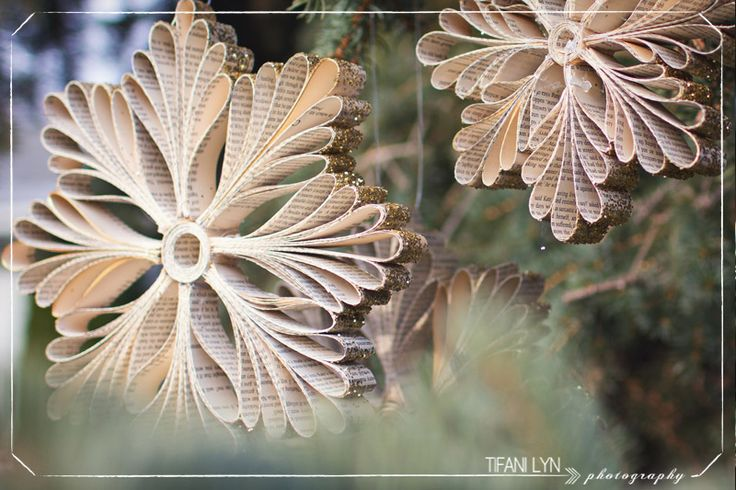 DIY Christmas Snowflake Tutorial - by Tifani Lyn -- http://tifanilyn.com/2012/11/let-it-snow-diy-snowflake-tutorial-make-something-lovely/: