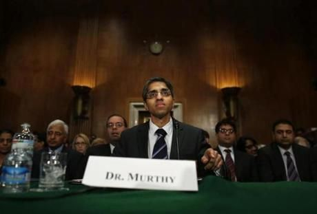 Vivek Murthy's opportunity to discuss guns