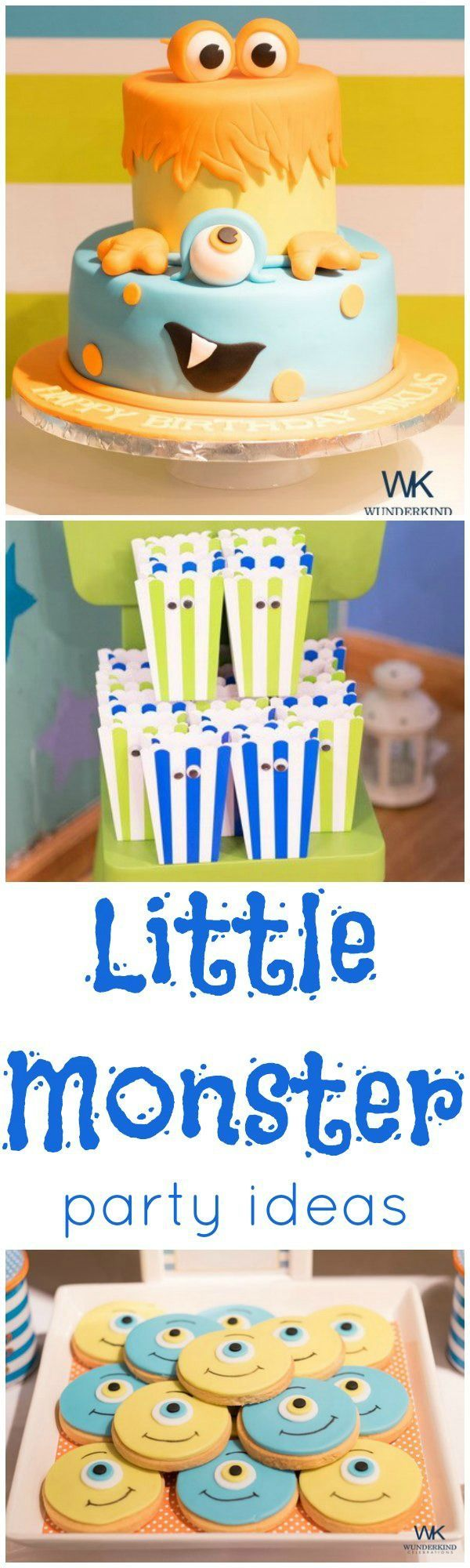 Little Monster Party Ideas - a fun birthday theme for kids!
