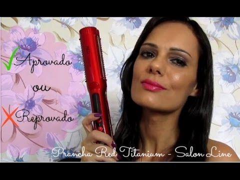 ATENÇÃO: A Prancha Salon Line é uma M**...   Luciana Queiróz