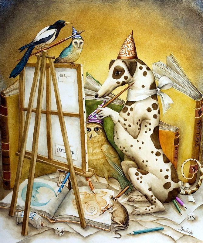 L'Atelier du Peintre  2010    Agnes Boulloche