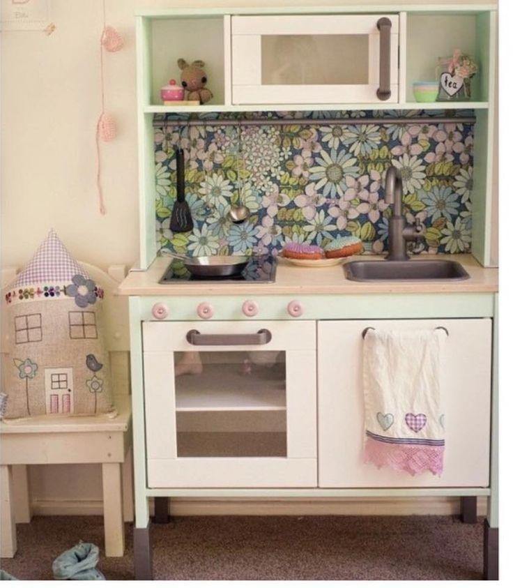 Australian Ikea Duktig Play Kitchen Easy Makeover And