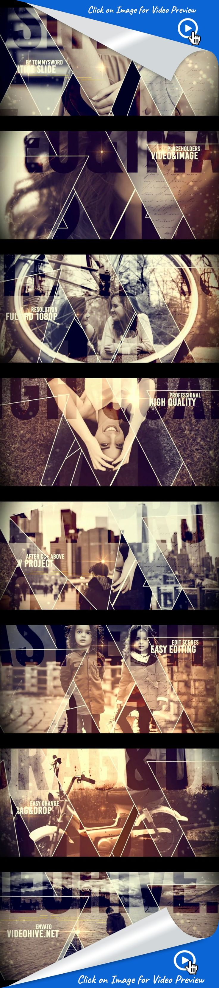 clean, dynamic, gallery, happy, journey, minimalistic, photo, slideshow, special event, trailer, travel, video display, after effects templates, after effects ideas, after effects intro, after effects intro, after effects motion graphics, intro ideas youtube, after effects projects, videohive projects - No plugin   - All made in After Effects   - Editable with After Effects  CC – CC 2014 – CC 2015   - 1920×1080 Full HD resolution   - Works with any frame rate   - 22 Placeholders f...